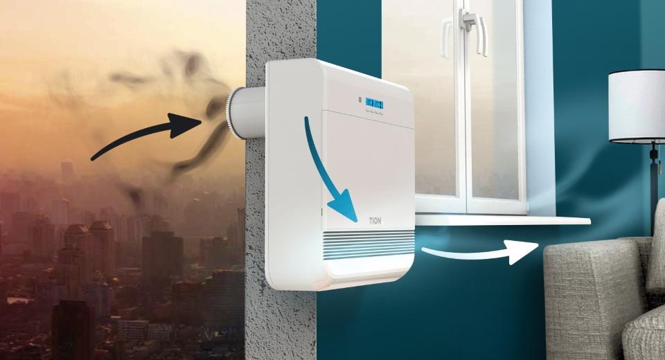 Бризер — идеальный прибор для создания комфортных условий в помещении
