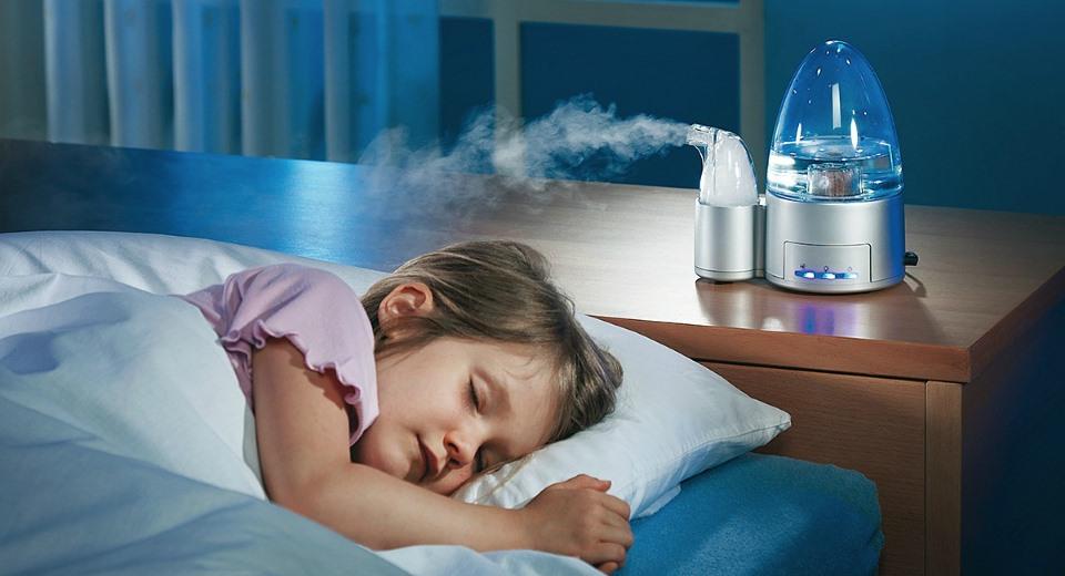 Как сделать влажный воздух дома