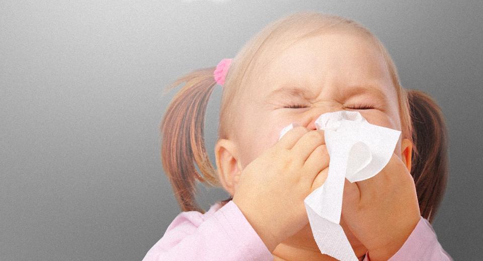 Аллергия на пыль у ребенка: симптомы и лечение