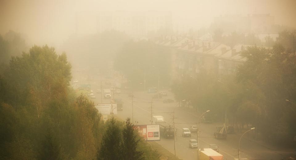 Лето 2016: загрязнение воздуха в Сибири