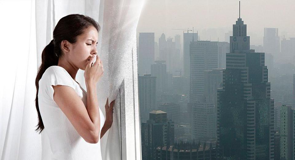 Более 90% воздуха планеты загрязнены частицами PM2.5