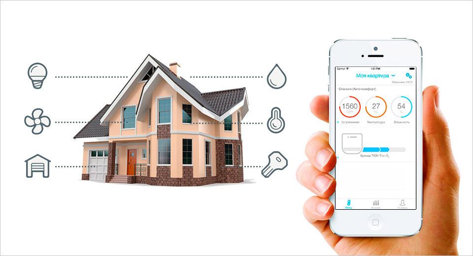 Система умного дома: управление климатом