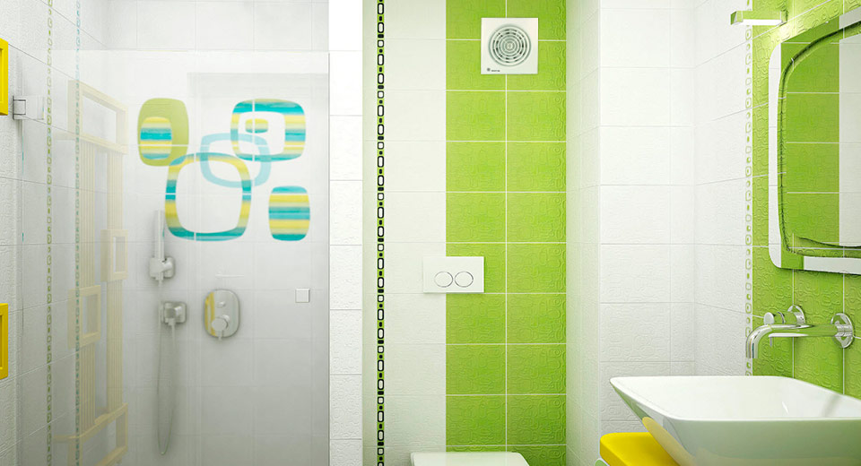 От винта: вытяжной вентилятор для ванной