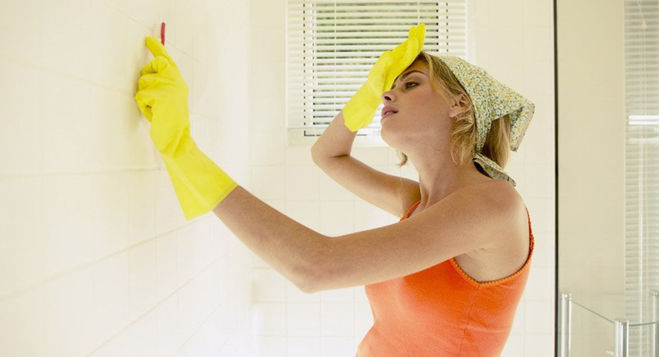 Как убрать плесень в ванной комнате на стенах своими руками 6