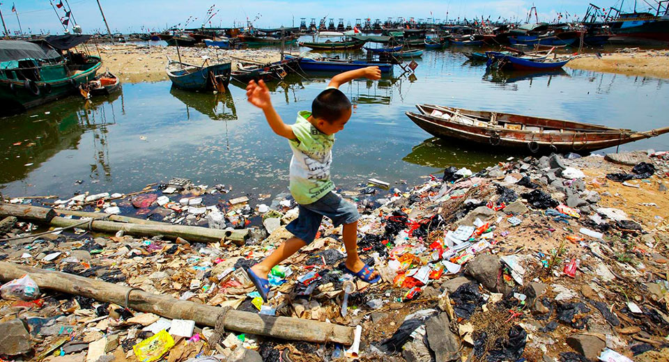 Замърсяване на водите