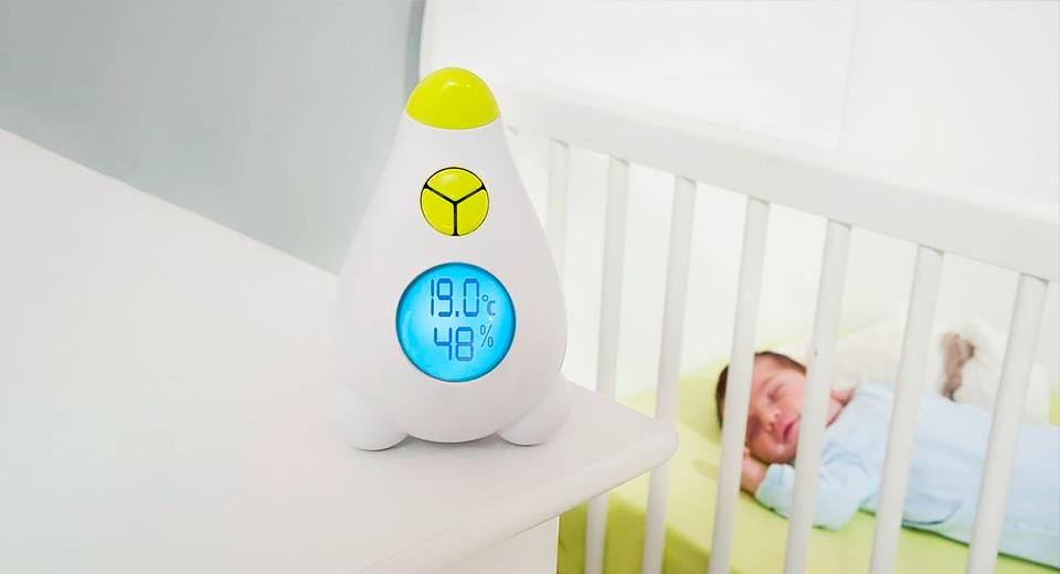 Какая влажность должна быть в комнате новорожденного