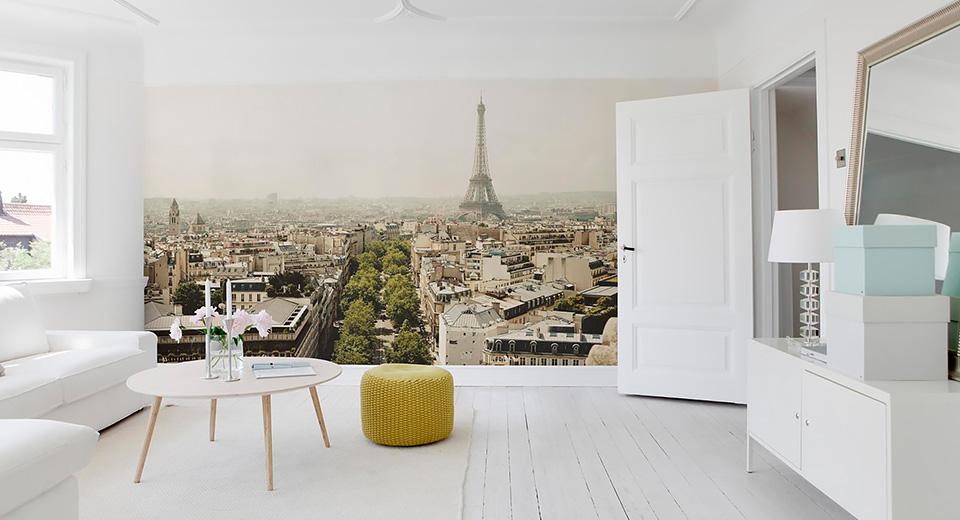«Увеличиваем» квартиру с помощью фотообоев