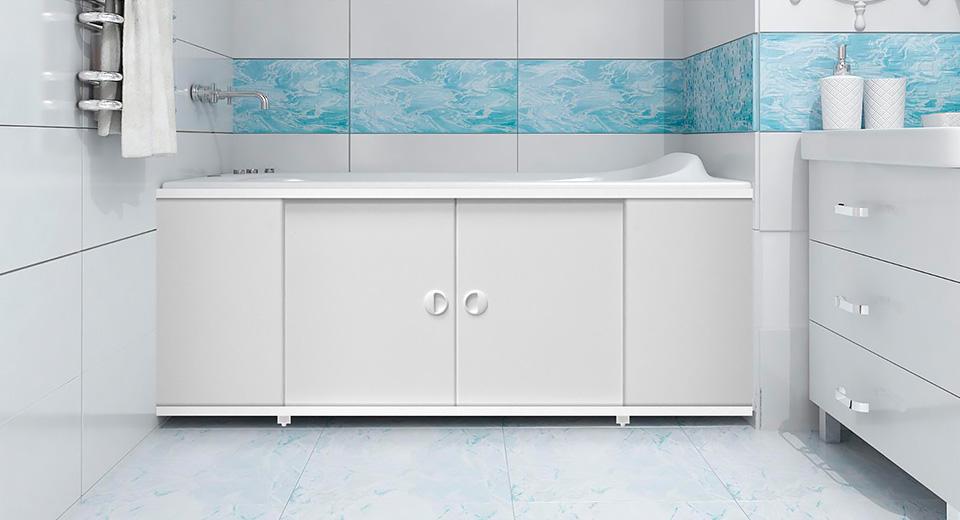 «Голубой экран»: оформляем ванную комнату правильно