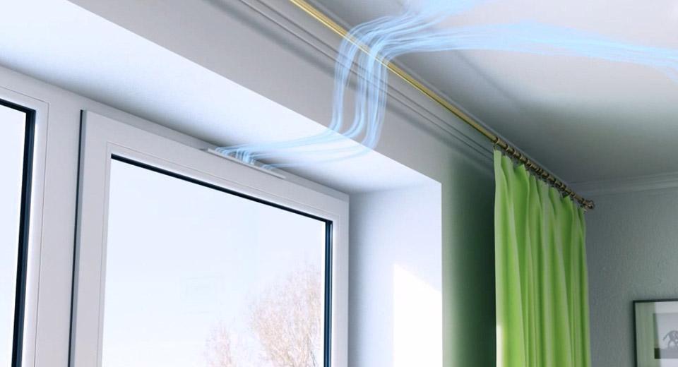 Приточный клапан на пластиковые окна: дайте квартире дышать!