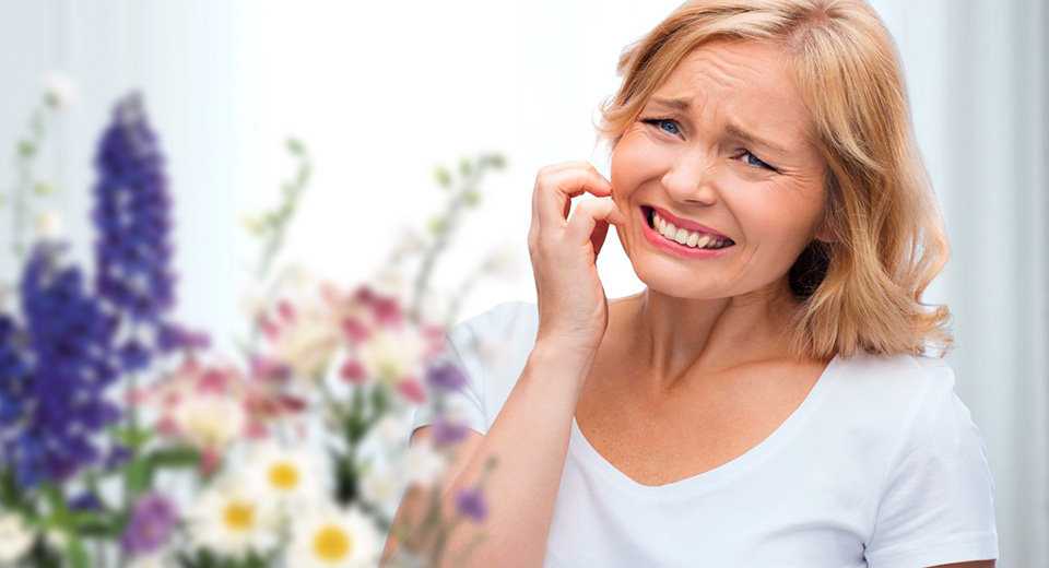 Виды аллергических реакций