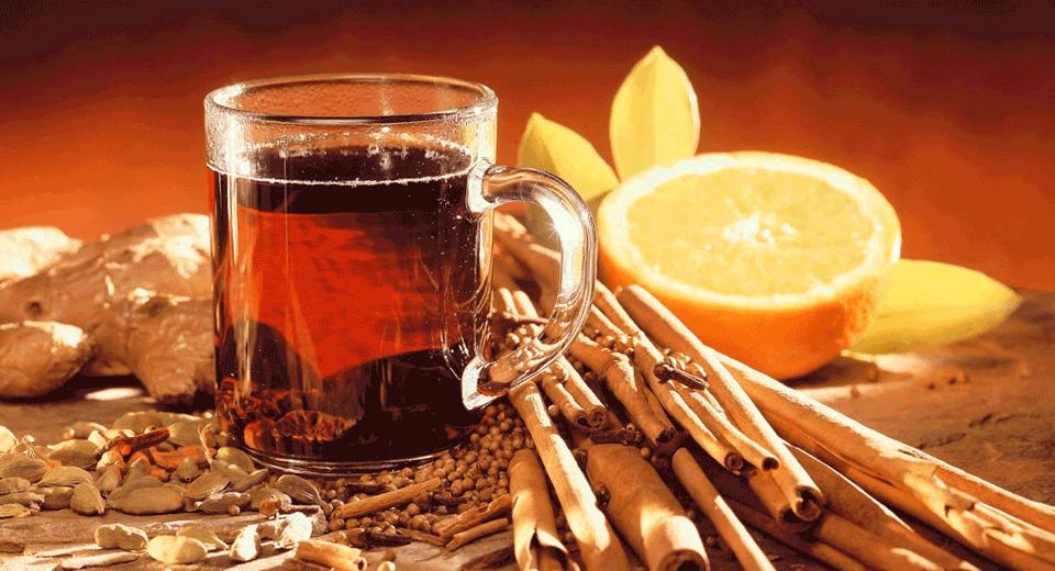 Чай с корицей от головной боли