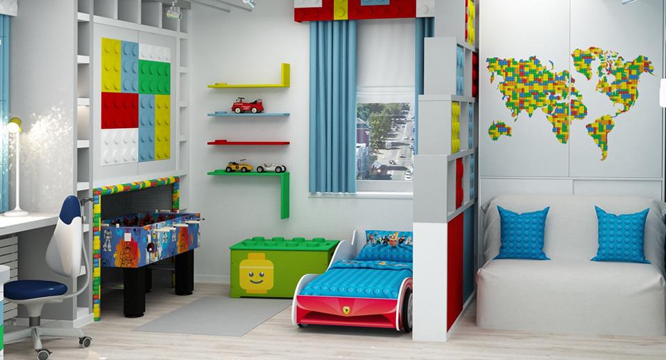 Лего-стиль для детской