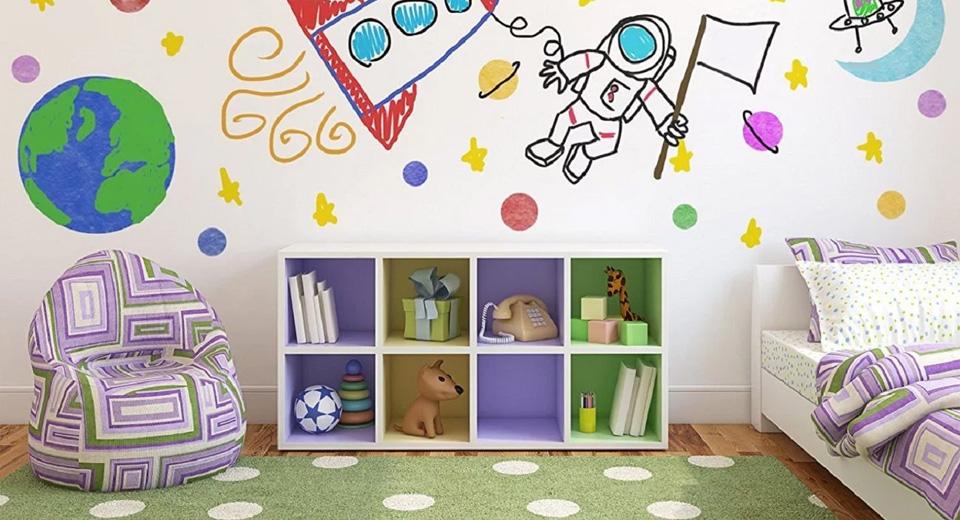 Мультипликационный стиль для детской